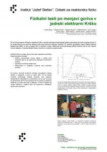 Institut Joef Stefan Odsek za reaktorsko fiziko Fizikalni