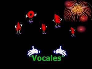 Vocales Introduccin En mi aula de integracin hay