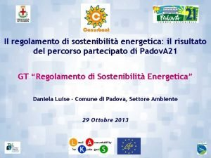 Il regolamento di sostenibilit energetica il risultato del