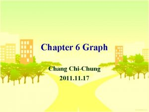 Chapter 6 Graph Chang ChiChung 2011 17 Graph