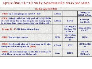 LCH CNG TC T NGY 24102016 N NGY