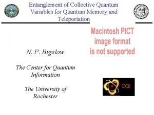 Entanglement of Collective Quantum Variables for Quantum Memory