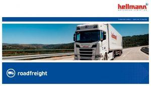 roadfreight Produktdefinition Gewicht bis 2 500 kg max