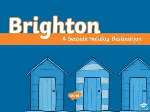 Where Is Brighton Brighton is on the south