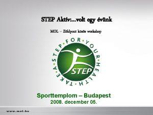 STEP Aktv volt egy vnk MOL Zldpont kzs