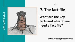 Writing the fact file Fact or fiction Fact