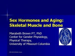 Sex Hormones and Aging Skeletal Muscle and Bone