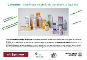 5 Bio Natyr Cosmtique naturelle bio du commerce