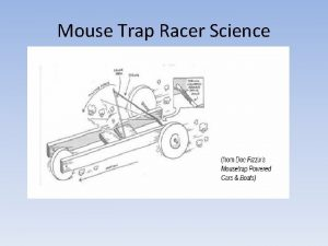 Mouse Trap Racer Science Potential Energy Potential Energy