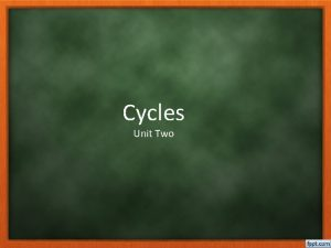 Cycles Unit Two Earths Makeup Section one Atmosphere