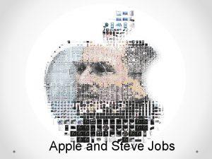 Apple and Steve Jobs Summary Biography of Steve