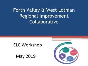 Forth Valley West Lothian Regional Improvement Collaborative ELC