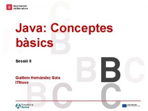 Hola hola hola hola Hola hola Java Conceptes
