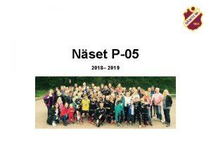 Nset P05 2018 2019 Agenda Ssongen 2018 terblick