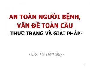 AN TON NGI BNH VN TON CU THC