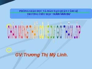 PHNG GIO DC V O TO QUN CM