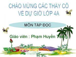 MN TP C Gio vin Phm Huyn Trang