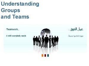 Understanding Groups and Teams 2 3 Understanding Groups