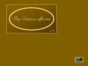 Day Crations rflexives 2013 Situe une douzaine de