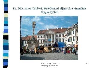 Dr Dis Jnos Frdvz ferttlentsi eljrsok a vzanalzis