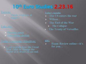 10 th Euro Studies 2 23 16 Turn