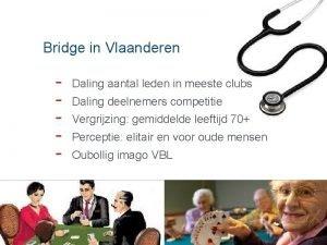 Bridge in Vlaanderen Daling aantal leden in meeste