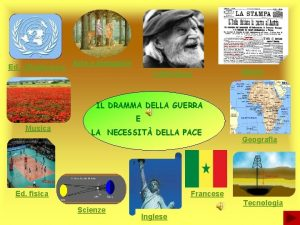 Ed cittadinanza Arte e immagine Letteratura Storia IL