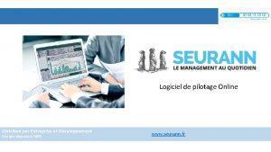 Logiciel de pilotage Online Distribu par Entreprise et