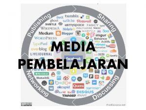 MEDIA PEMBELAJARAN CAPAIAN PEMBELAJARAN Mampu mengembangkan beragam media