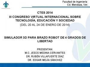 Facultad de Ingeniera Cd Mendoza Ver CTES 2014