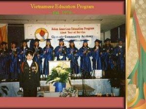 Vietnamese Education Program Est 1976 Vietnamese Education Program