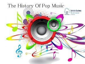 The History Of Pop Music About Pop Music