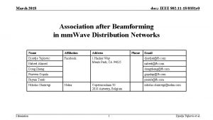 March 2018 doc IEEE 802 11 180381 r