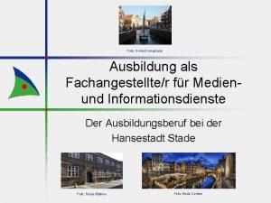 Foto Helmut Jungclaus Ausbildung als Fachangestellter fr Medienund