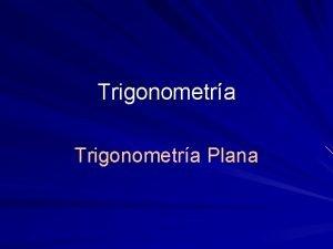 Trigonometra Plana Idea de ngulo Rectas que se