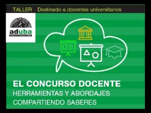 Docentes Carlos Authier Editor Docente UBA CONICET CAICYT