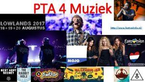 PTA 4 Muziek http www festivalinfo nl PTA