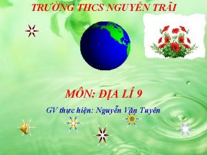 TRNG THCS NGUYN TRI MN A L 9