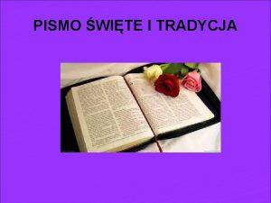 PISMO WITE I TRADYCJA NAZWA Biblia po grecku
