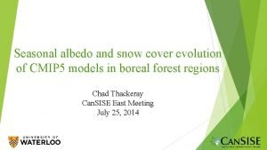 Seasonal albedo and snow cover evolution of CMIP