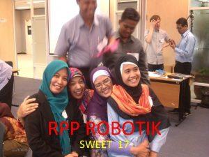RPP ROBOTIK 1132020 SWEET 17 SMARTLAB SWEET 17