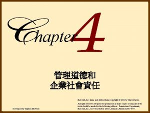 hapter Harcourt Inc items and derived items copyright