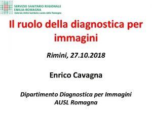 Il ruolo della diagnostica per immagini Rimini 27