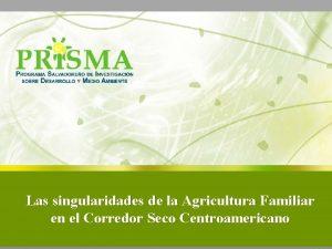 Las singularidades de la Agricultura Familiar en el