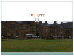 Imagery Definition Imagery Poems draw the reader into