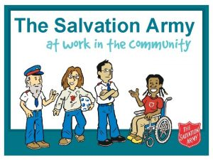 The Salvation Army what do you know about