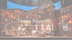 Theatre Stagecraft Follow Scott Pask and Es Devlin