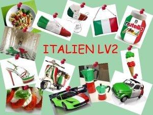 ITALIEN LV 2 10 bonnes raisons dtudier lITALIEN
