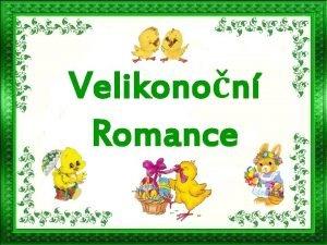 Velikonon Romance Slunko svt na vajka malovan Chlapci