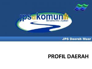 JPS Daerah Muar PROFIL DAERAH PETA LOKASI DAERAH